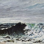 Gustave Courbet, L'onda