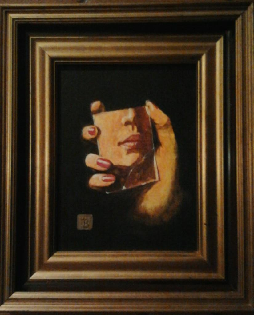 Franco Blandino, Nello specchio rotto