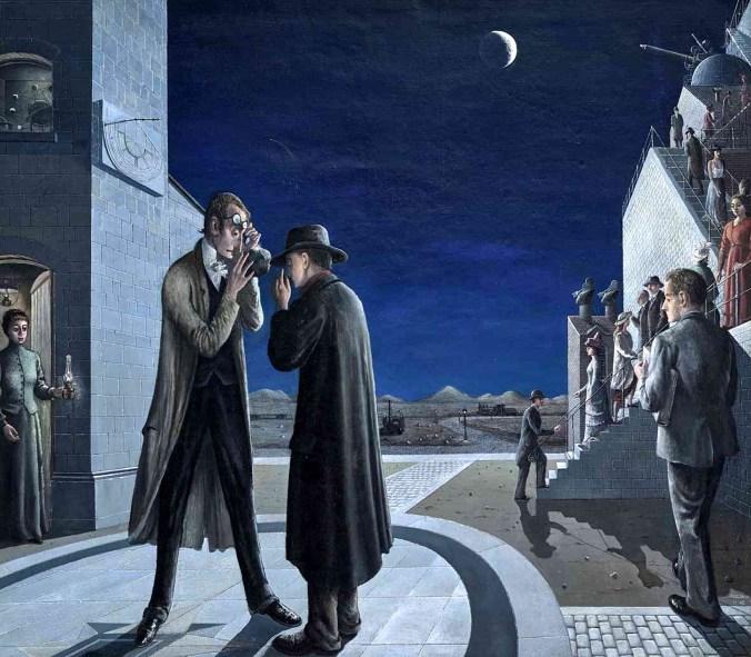 Delvaux, Le phases de la lune III