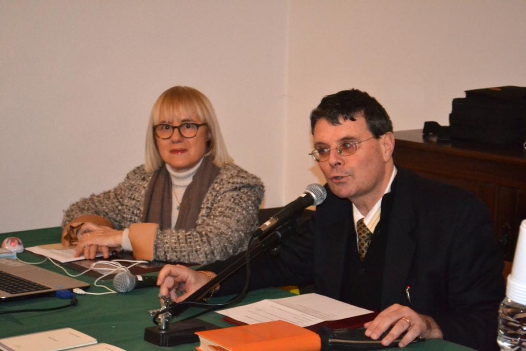 Gabriella Mongardi e Stefano Casarino