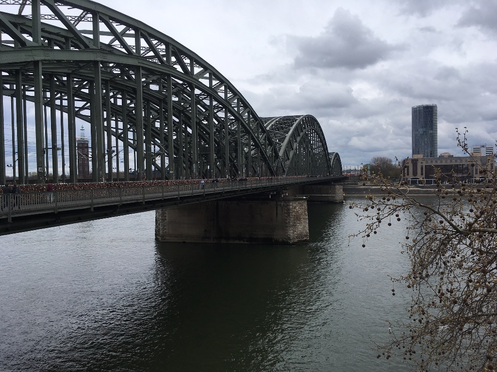 Il Reno a Colonia