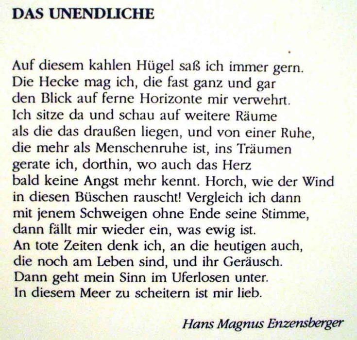 infinito-in-tedesco