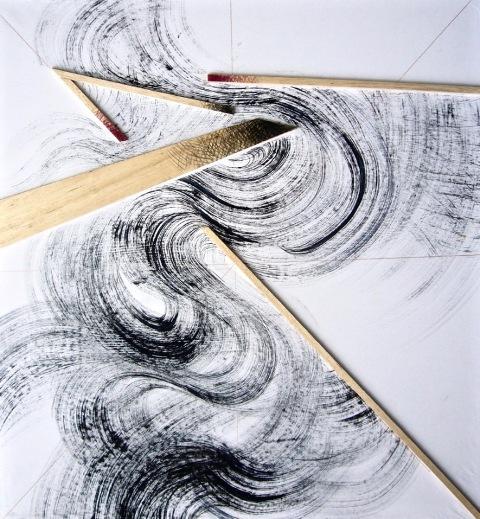 Un'opera di Claudio Zanini in mostra