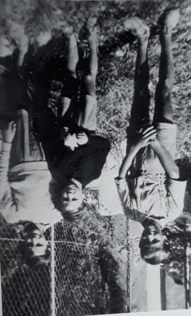 Da destra: Gigi, Renzo e Carlo