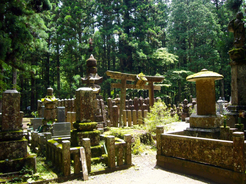 Cimitero a Koyasan (Wakayama)