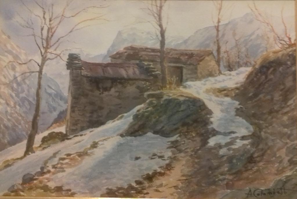 Dipinto di Arnaldo Colombatto