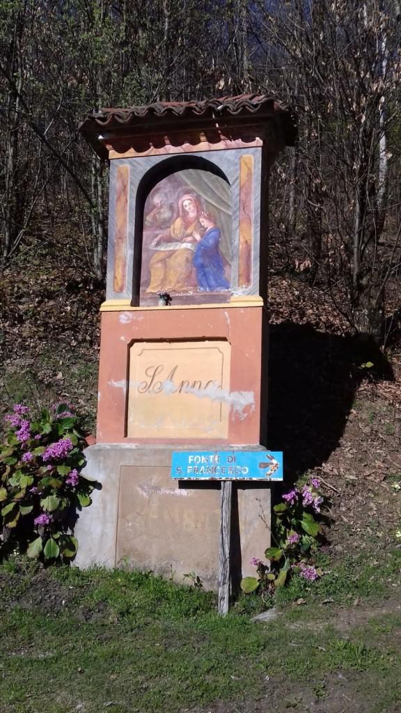 Pilone di sant'Anna posto di blocco all' entrata di Prea