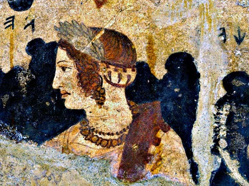 Velia, Tomba dell'Orco, Tarquinia, IV-III sec. a.C