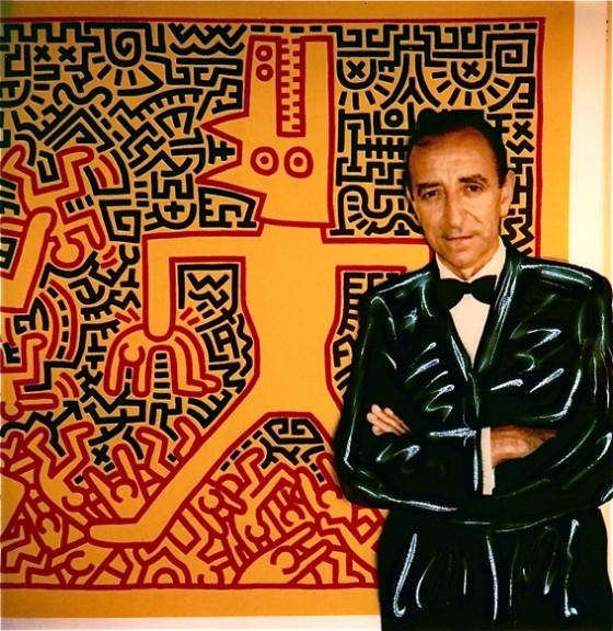 Lucio Amelio, polaroid di Augusto De Luca (da Wikipedia)
