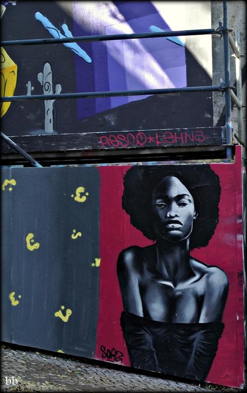 murale-donna-nera Bruna Bonino