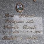 La tomba del Partigiano Gino Ghibaudo